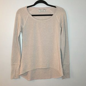 Athleta Long Sleeve Sweater/Top with thumb holes